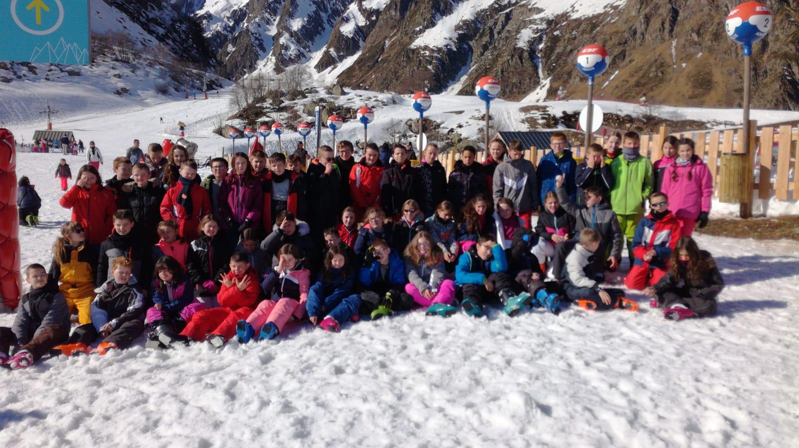 Séjour au ski jour 5 et arrivée
