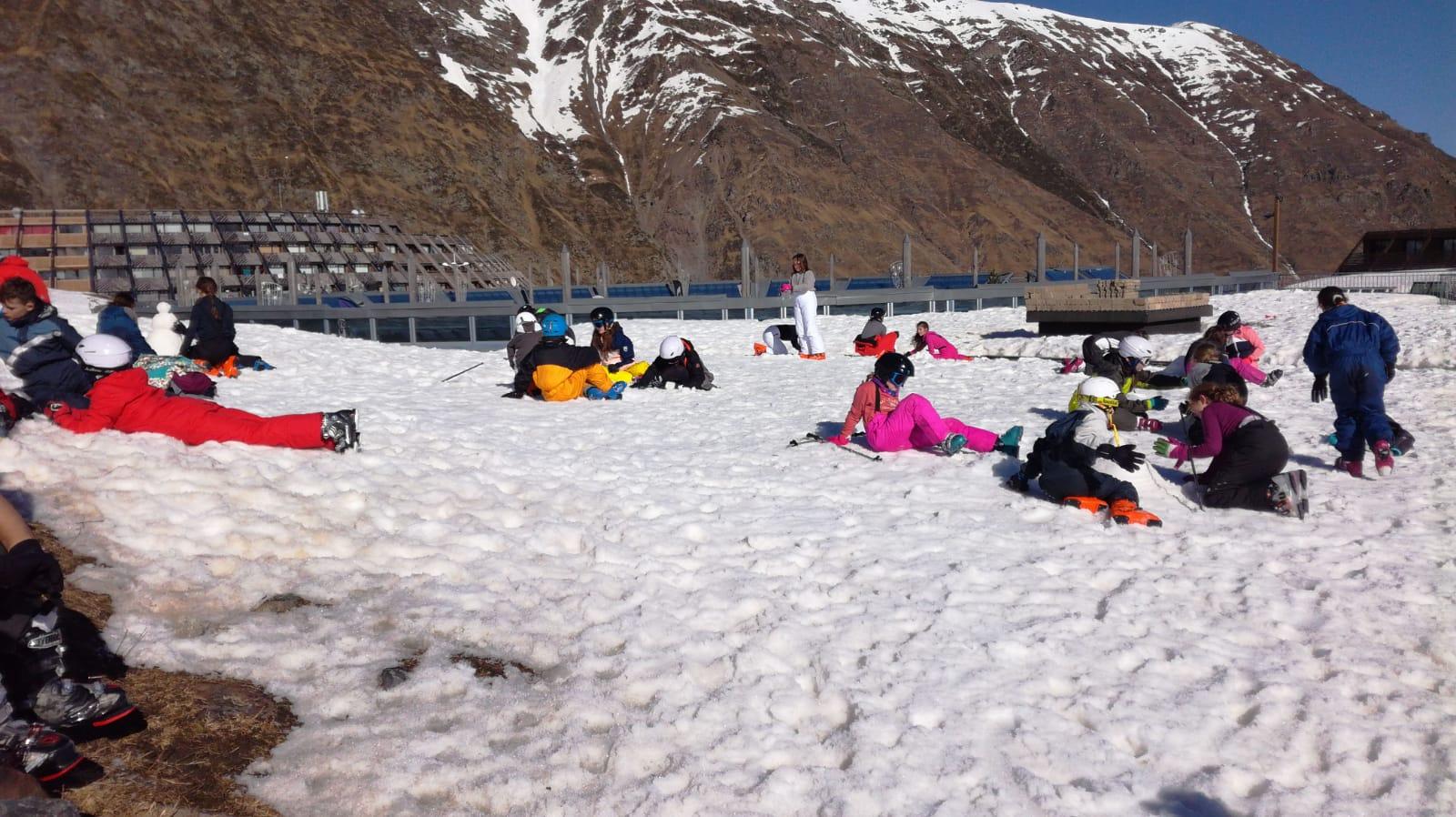 Séjour au ski jour 4