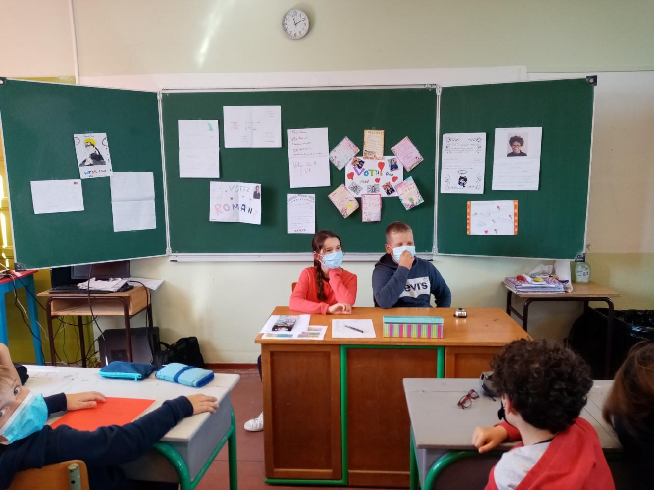 Élections des délégués élèves